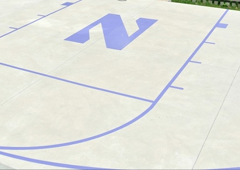 Basketball Court Painting Big Joes Sealcoating 630 935 7032